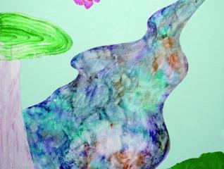 【7/26(金)~9/1(日)】 Art/光と水がるるっと笑って、 色と線がたくさん生まれた