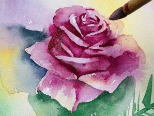 【2/24(月,振休)・3/7(土)】 ワークショップ/やさしく描ける水彩画